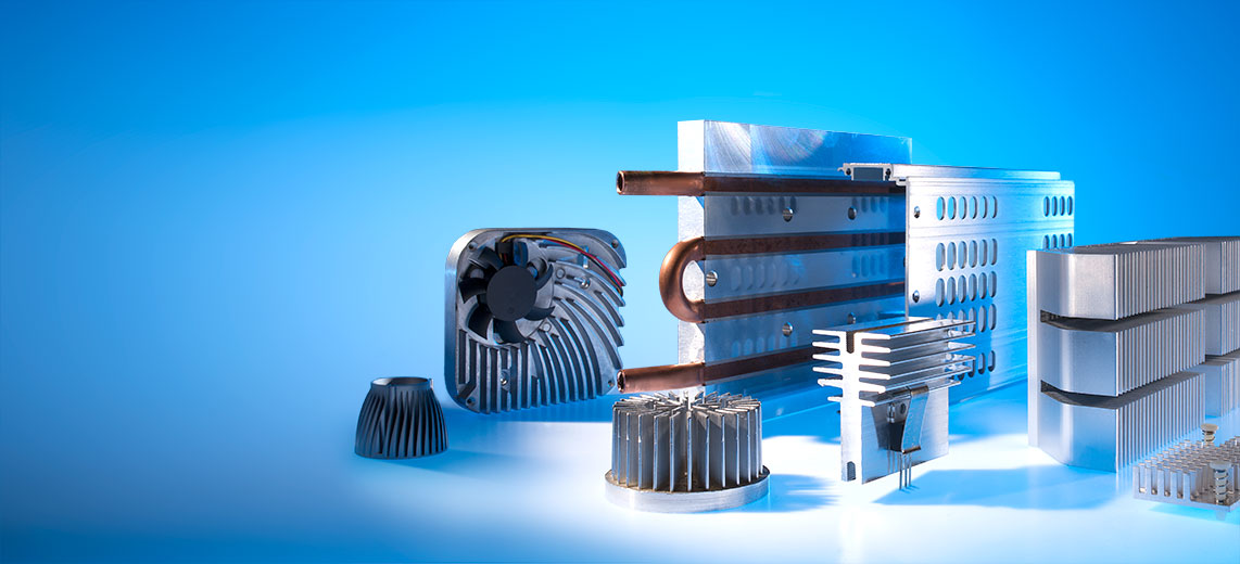 Heat sinks and