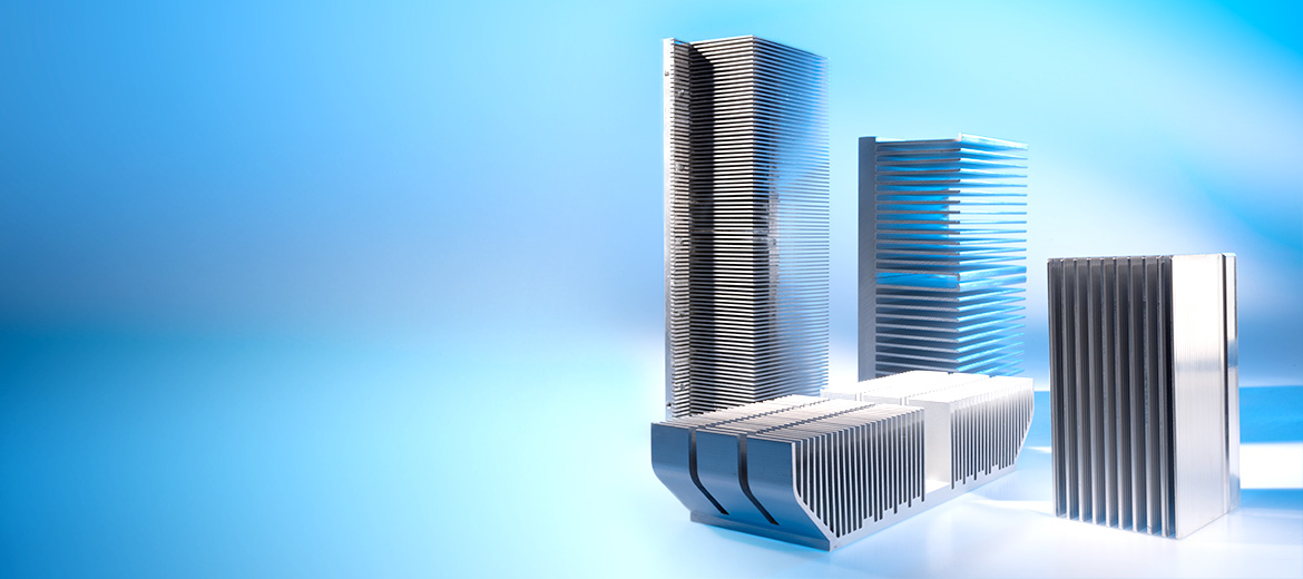 Profile heat sinks made